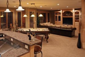 Reston Homes with Full Basement