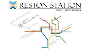 reston metro station
